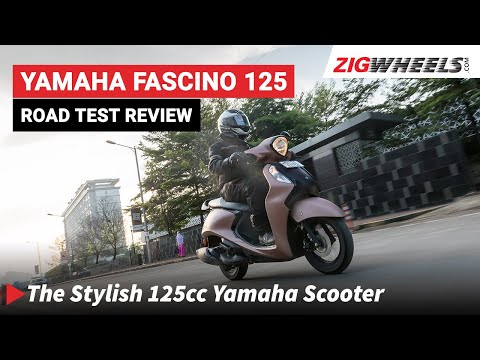 Yamaha Fascino 125 Fi Road Test | Performance, Mileage, Features & More