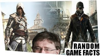 Watch_Dogs = Assassin's Creed!!! & sneaky Spieleentwickler - Random Game Facts #91