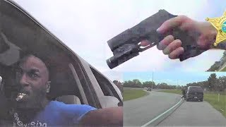 Body Cam: Suspect Drags Deputy, Get Shot and Injured Deputy