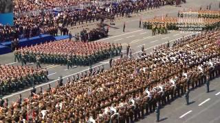 Lễ duyệt binh của Nga trên Quảng trường Đỏ ngày 9/5/2015