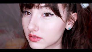 Natural Cat Eye   Gold Glow Makeup Tutorial