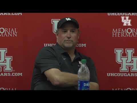 Houston Football: UCF Post Game Press Conference 11.2.19