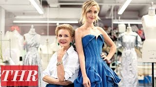 Kiernan Shipka & Carolina Herrera: Top Red Carpet Designers - Behind the Scenes | THR