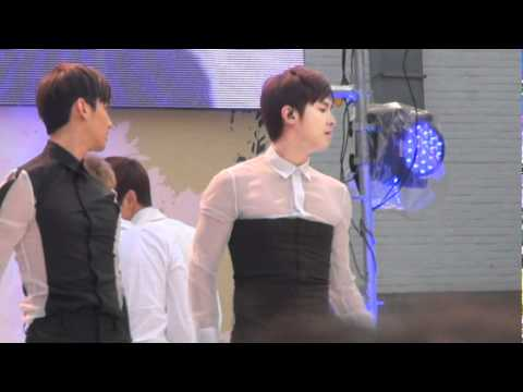 [fancam] 110403 SBS 차차르간 '지구 살리기 에코 페스티벌' 윤호(Yunho)