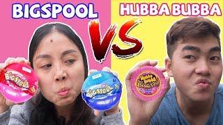 Lớp Học Nhí Nhí Nhố Nhố - Khoe Kẹo Big spool vs Kẹo Hubba bubba ❤ KN CHENO Chị Hằng