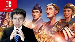 Raising an Empire on the Nintendo Switch! - Civilization 6 - Rise and Fall Expansion