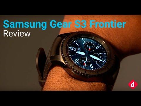 Samsung Gear S3 Frontier Review  Digitin