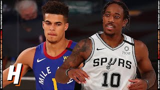 Denver Nuggets vs San Antonio Spurs - Full Game Highlights | August 5, 2020 | 2019-20 NBA Season