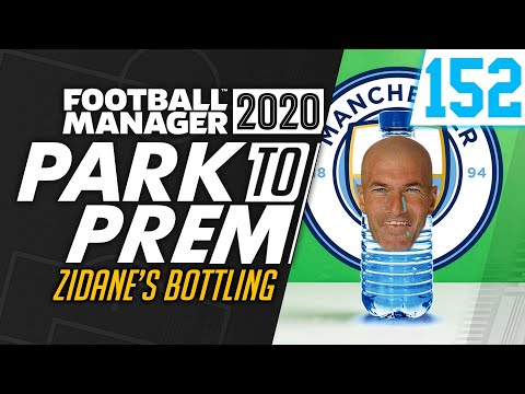 Park To Prem FM20 | Tow Law Town #152 - ZIDANE'S BOTTLING | Football Manager 2020