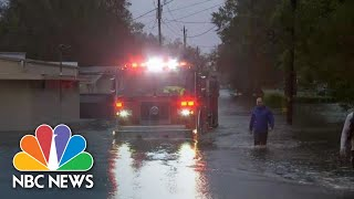Watch First Responders Rescue North Carolina Residents From Flooding | NBC News