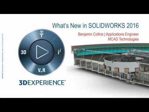 SolidWorks 2016: What's New with MBD Sneak Peak