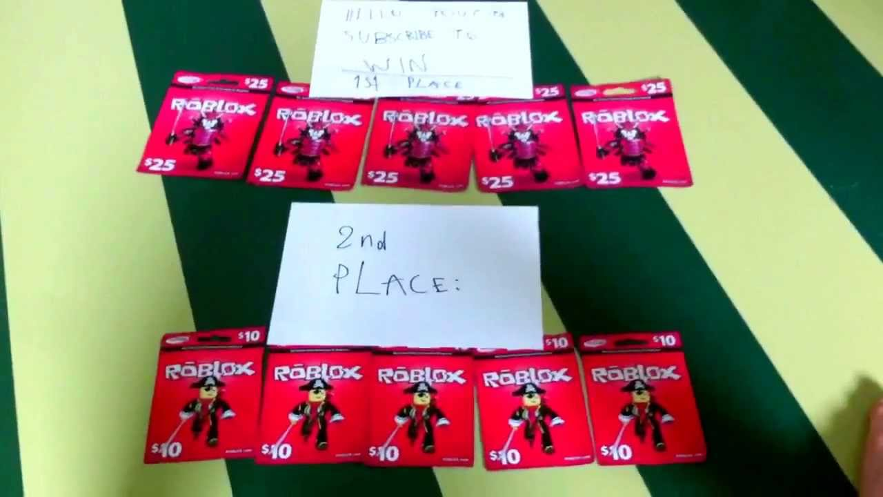 roblox free roblox cards
