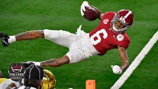 Alabama's DeVonta Smith, Mac Jones dominate Notre Dame [HIGHLIGHTS] | College Football Playoff