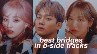 best bridges in kpop (b-side edition)