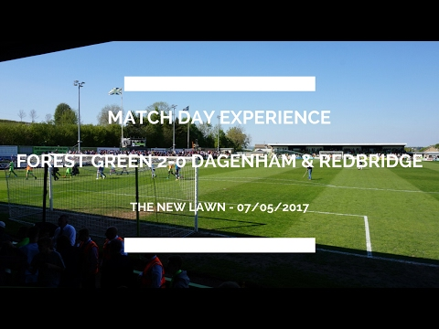 Forest Green Rovers vs Dagenham & Redbridge
