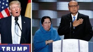 Trump criticized for comments about Muslim Gold Star family