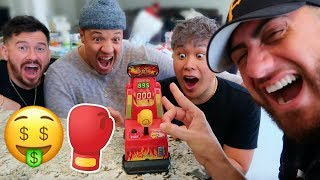FLICK THE HARDEST AND WIN $10000! *World Record Arcade Punch Bag Jackpot*