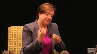A Discussion with Associate Justice Elena Kagan