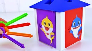 Learn Colors with Pinkfong's Baby Shark Kid Song, Plush, Toys & Games