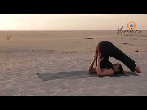 Halasana | Plow Pose by Allison Eaton