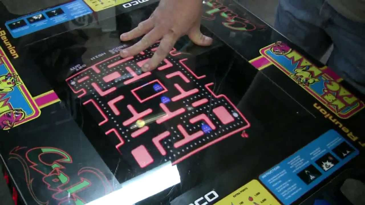 Pacman Table Game >> #451 Namco CLASS OF 81 Cocktail Table MS Pacman/Galaga ...