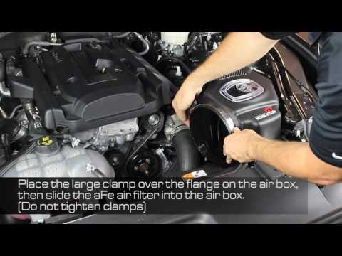 How To Install aFe Power 15-16 Ford Mustang EcoBoost I4-2.3L (t) Momentum GT Intake System 54-73201