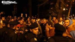 Ce nu s-a vazut la TV la protestul anti-gazele de sist din Capitala