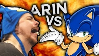 Arin Hanson VS The Sonic Twitter