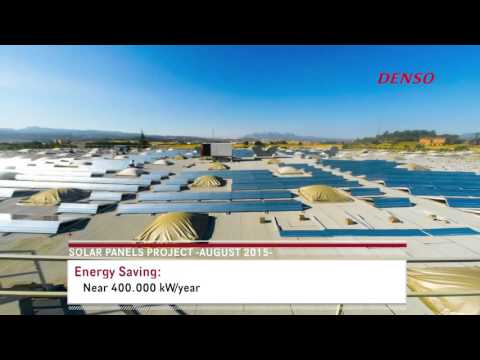 Installation of Photovoltaic system at DENSO Barcelona