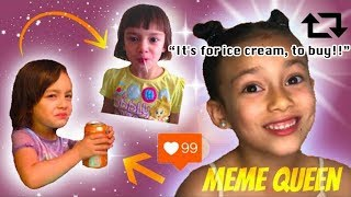 MY DAUGHTER'S VIRAL MEMES | HER REACTION
