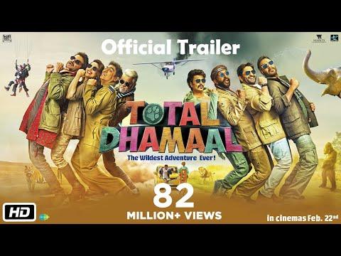 Total Dhamaal - Official Trailer  Ajay - Anil - Madhuri - Indra Kumar
