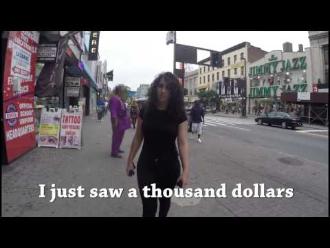 Watch men catcall this woman like crazy!