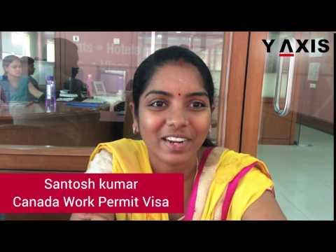 Santosh kumar Canada Open work permit visa PC Vanishree