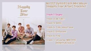 [전곡 듣기/Full Album] NU'EST(뉴이스트) 6th Mini Album [Happily Ever After]