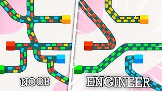 Using SEGREGATED HIGHWAYS to reduce traffic congestion! Mini Motorways!