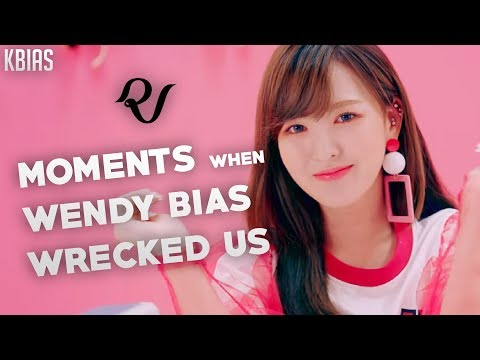 RED VELVET (레드벨벳) WENDY - MOMENTS WHEN SHE BIAS WRECKED US
