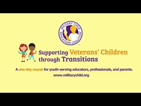 Serving Veterans' Children Through Transitions course available now.