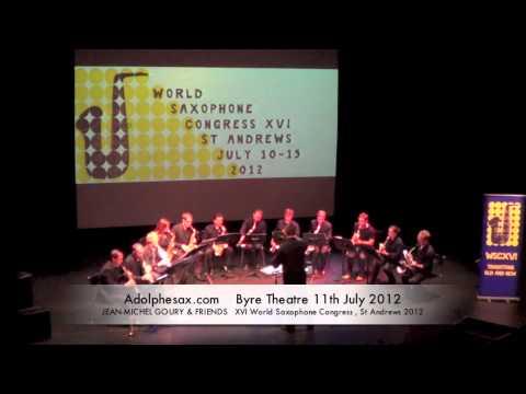 WSCXVI JEAN MICHEL GOURY & FRIENDS   Divertimento by Béla Bartòk, arr. Philippe Portejoie