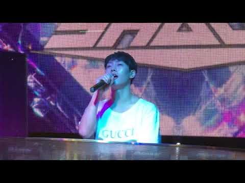 Shaun(숀) - ment + way back home(웨이백홈) 라이브 Live_#20180513