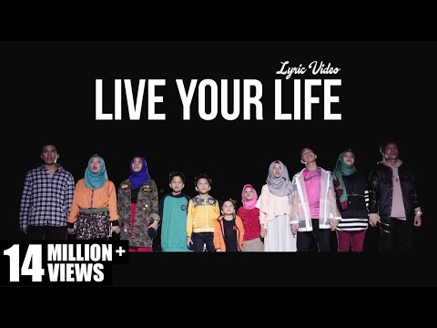 Gen Halilintar - Live Your Life (Lyric Video)