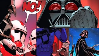 When Clones Discovered Darth Vader was Anakin Skywalker(Canon) - Star Wars Comics Explained