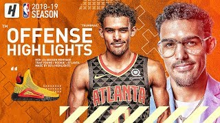 Trae Young BEST Hawks Offense Highlights from 2018-19 NBA Season! CRAZY Moves, CLUTCH Threes!