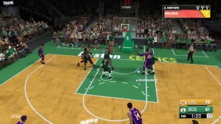 COMPETITIVE NBA 2K19 GAME AGAINST A FRIEND