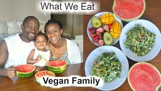 What we Eat in a Day | Vegan Family with a Toddler