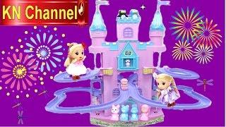 Đồ chơi trẻ em Búp bê WINX CLUB | LÂU ĐÀI THẦN TIÊN & búp bê chibi Baby Doll Kids toys