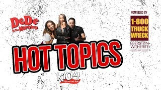 DeDe's Hot Topics- R Kelly's NEW SONG...