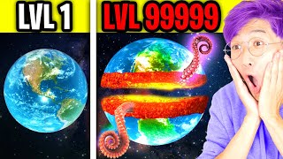 Can We Destroy The MAX LEVEL PLANET In SOLAR SMASH!? (SECRET WEAPONS UNLOCKED!?)