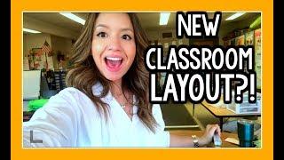 New Classroom Layout! | Teacher Vlog Ep. 34