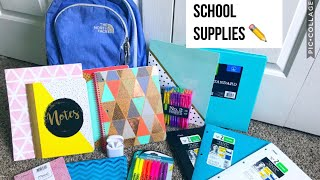 BACK TO SCHOOL SUPPLIES HAUL 2018  High School Junior Year