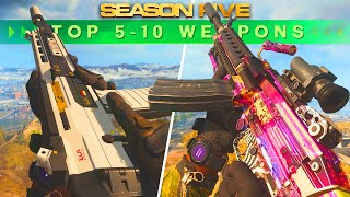 Call of Duty WARZONE: The NEW TOP 5 LOADOUTS Of SEASON 5
